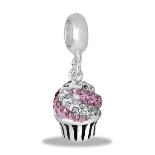 Davinci Bead Cz Cupcake - Jewelry Bracelet Memories Beads Db92-8-Dav front-960350