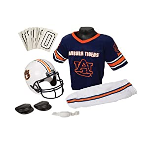 Franklin Sports NCAA Auburn Tigers Deluxe Youth Team Uniform Set, Small