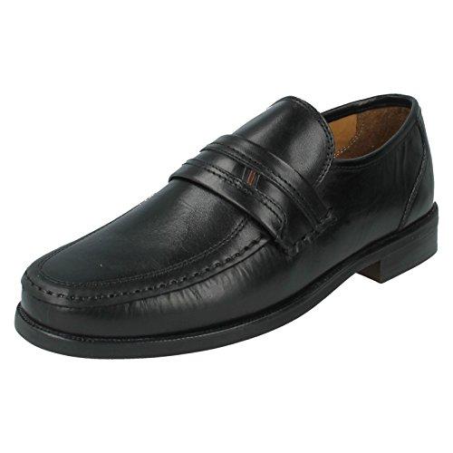 Clarks Bezel Edge - Black Leather 7.5 UK