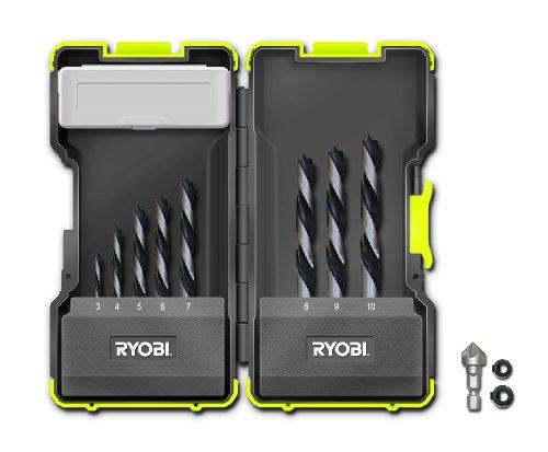 Sale alerts for Ryobi Ryobi Brad Point Bit Set (8 Pieces) - Covvet