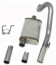 JBA CatBack Exhaust System 91-96 JEEP WRANGLER YJ 40-1502