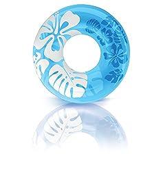 Intex Clear Color Tubes - Blue, Multi Color