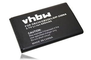 Batteria Li-Ion adatto per LG GB220, GB230 sostituisce LGIP-330NA