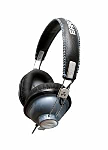 iFrogz EarPollution Throw Bax Casque Fermé pour mp3 / iPod Bleu métallique