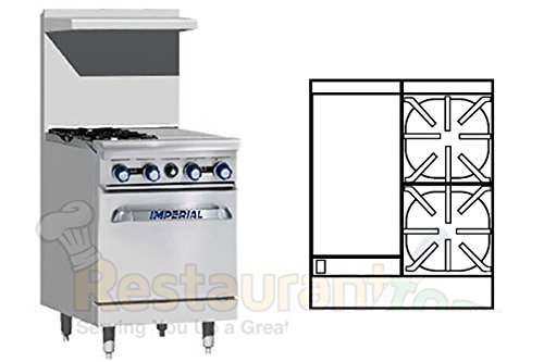 Imperial-Commercial-Restaurant-Range-24-With-2-Burners-12-Griddle-1-Standard-Oven-Nat-Gas-Ir-2-G12