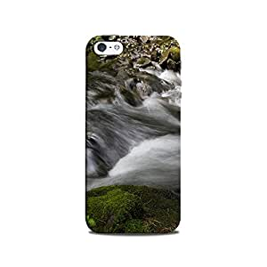 Mikzy Green Landscape Printed Designer Back Cover Case for Iphone 5/5S (MultiColour)