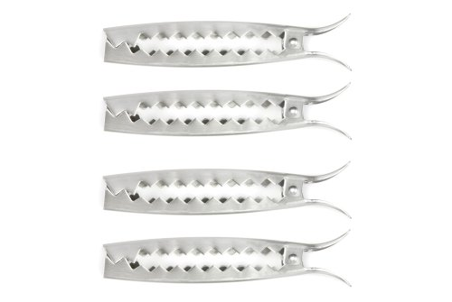 Charcoal Companion Stainless Grill Clips / Set 4 - CC5134