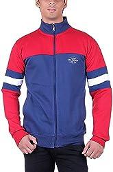 UCC Men's Fleece Regular Fit Sweatshirts (UCC6031RED-XXL)