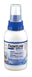 Frontline spray 100 ml anti puces et anti tiques chien et chat de