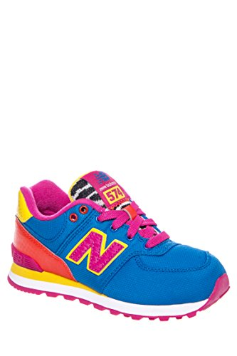 Girls' Multicoloured Low Top Athletic Sneaker