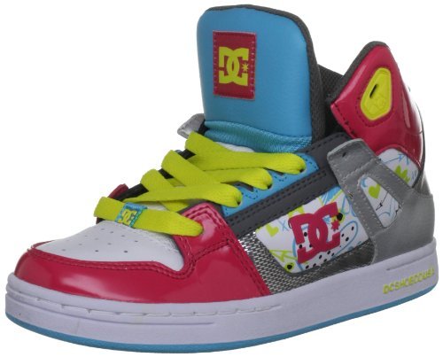 Dc Shoes Rebound Raspberry Fashion Sports Skate Shoe D0302676B 6 UK Youth, 7 US