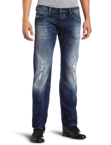 Brand New Diesel Safado 8U9 Mens Jeans, 08U9, Regular Slim Fit Straight Leg (31 x 32)