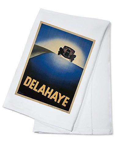 delahaye-vintage-poster-artist-perot-france-c-1932-100-cotton-absorbent-kitchen-towel