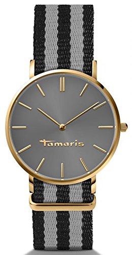 Tamaris - B01156030 - Montre Femme - Quartz - Analogique - Bracelet Textile multicolore
