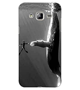 ColourCraft Underwater Image Design Back Case Cover for SAMSUNG GALAXY J3 (2016)