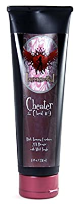 Immoral Tanning Lotion, Cheater (Dark Tanning Bronzing Emulsion with Tingle), 8 Fluid Ounce