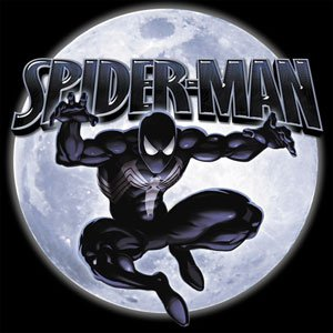 Licenses Products Spider-Man Spidy Moon Sticker