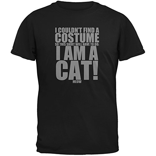 Halloween Cheap Cat Costume Black Youth T-Shirt