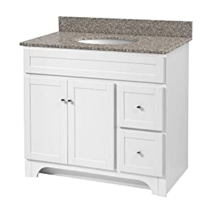 Foremost Wrwa3621d Worthington 36 Inch White Bathroom Vanity