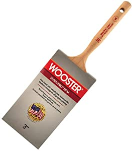 Wooster Brush 4183-3 Ultra/Pro Firm Lynx Paintbrush, 3-Inch