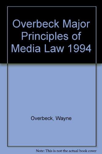 Major Principles of Media Law 1994
