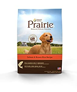 Prairie Salmon & Brown Rice Recipe Dry Dog Food by Nature's Variety 13.5 lb Bag