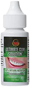 Ultimate Gum Solution Single Bottle- Dental, Dental Care, Dentist, Gum Inflammation, Toothache, Bad Breath, Oral Hygiene, Gingivitis, Root Canal, Dental Care, Bleeding Gums, Swollen Gums, Bleeding Gums, 15 Years Tested with 99% Success Rate, 100% Money Back!