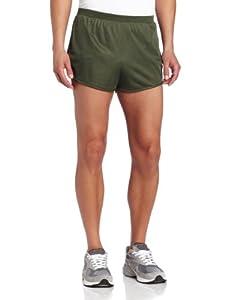 Soffe Men's Running Short,Od Green,MED