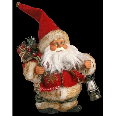 PW Singing and Dancing Santa Christmas Figure / Decoration