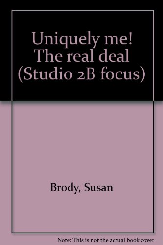 Uniquely me! The real deal (Studio 2B focus), Brody, Susan