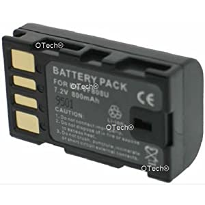 Otech C056SA Batterie pour Caméscope de type JVC BN-VF808U 7,2 V