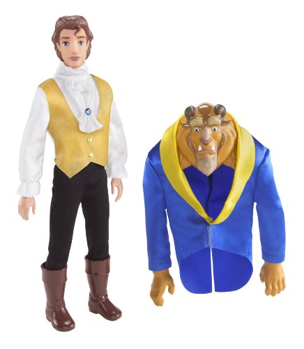 Buy Low Price Mattel Disney Princess Transforming Beast Doll Figure (B0037UV02W)