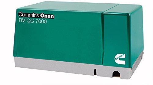 Cummins Onan 7 Hgjab-6756 - Rv Generator Set Quiet Gasoline Series Rv Qg 7000