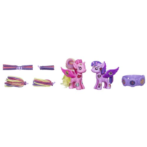 My Little Pony Pop Princess Twilight Sparkle and Princess Cadance Deluxe Style Kit - 1