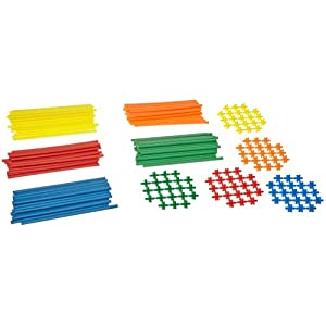 Roylco Straws and Connectors Building Kit - 8 inches - Pack of 230