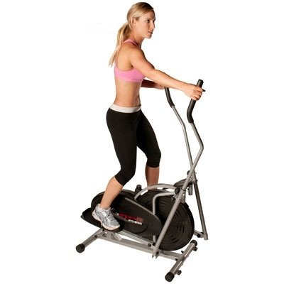 Confidence Elliptical Cross Trainer with Computer