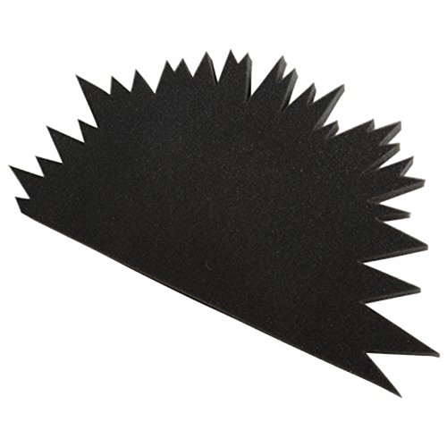 Foam Child Size Spike Black Mohawk Hat - 1