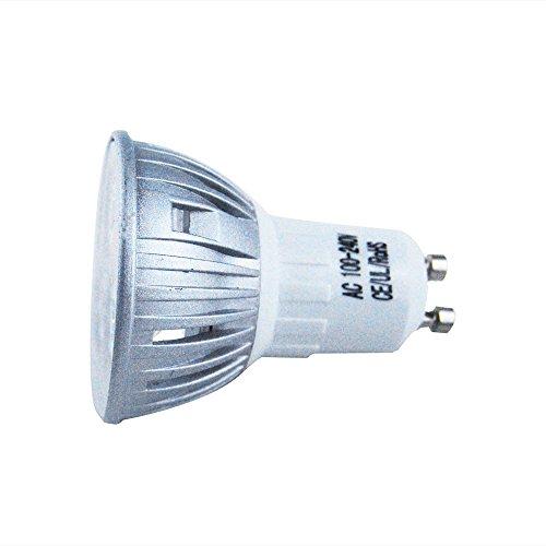 Jombo 1 Piece High Power 4W Led Bulbs Lamp Bulb Day White Gu10 100V-240V Household Replacement Lighting
