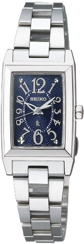 [セイコー]SEIKO 腕時計 LUKIA ルキア ソーラー ネイビー SSVR069 レディース