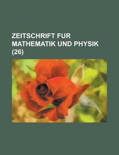 Zeitschrift Fur Mathematik Und Physik (26)