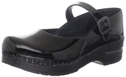 Dansko Women'S Maryjane Clog,Black Patent,39 Eu/8.5-9 M Us back-268198