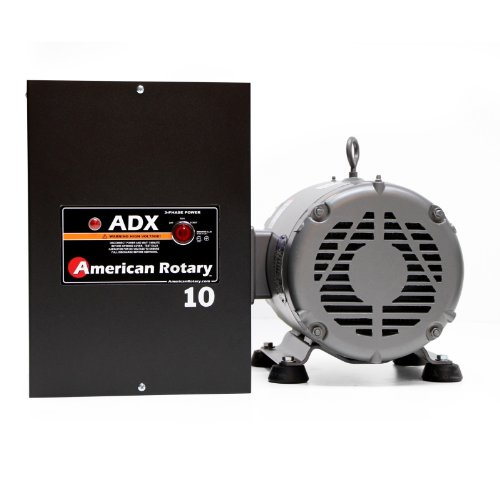 Rotary Phase Converter 10HP 1 to 3 Phase ADX10 CNC Extreme Duty American Made
