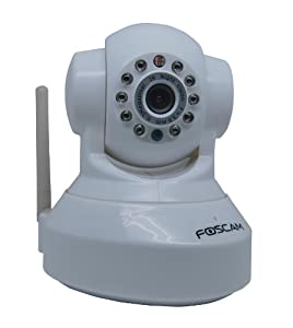 Foscam FI8918W Telecamera IPCAM Wireless motorizzata da interno Bianca