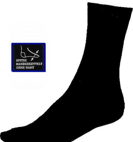 8 Paar Herrensocken schwarz, Gentleman-Line. Qualitt mit