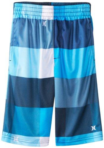 Hurley Little Boys' Kingsroad Mesh Short Blue, Ultramarine, Medium front-428222