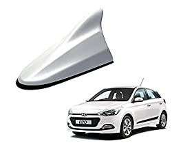 Auto Pearl - Premium Quality Shark Fin Replacement Signal Receiver Antenna - O.E. Polar White Color For - Hyundai I20 Elite