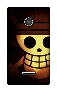 The Racoon Lean woodoo hard plastic printed back case / cover for Microsoft Lumia 532