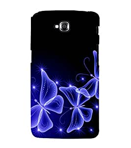 printtech Butterfly Starry Sparkling Back Case Cover for LG GPro Lite / LG G Pro Lite Dual D686
