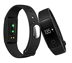 Opta SW-009 Blue Bluetooth Smart Band and fitness tracker and heart rate sensor
