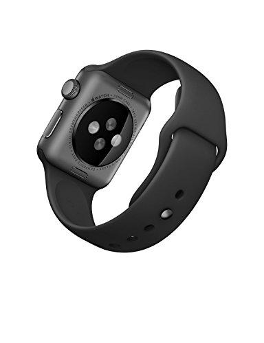 Apple-MJ2X2LLA-Sport-Band-Space-Grey-Aluminum-CaseBlack-38-mm